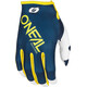 ONeal Mayhem Bike Gloves yellow/blue
